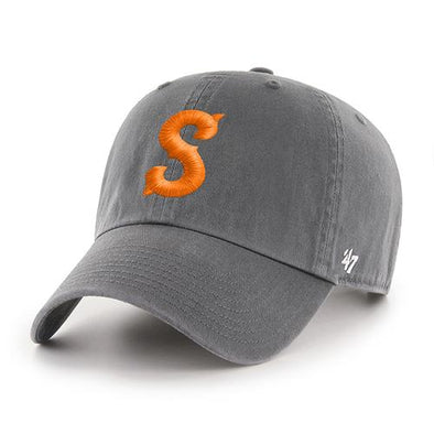 Syracuse Mets 47 Charcoal S Clean Up