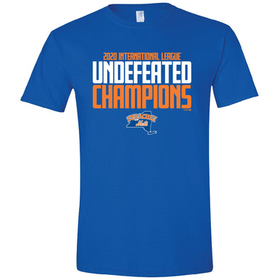 Syracuse Mets 2020 Undefeated Champions T-shirt