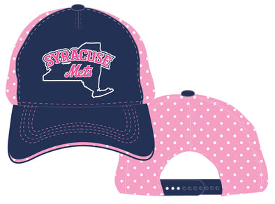 BR Pink Dots Youth Adj. Cap