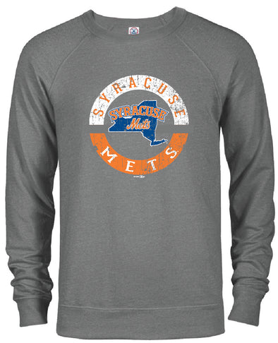 BR Graphite Men's Crewneck Sweatshirt