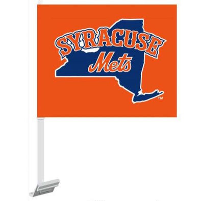 Syracuse Mets Car Flag