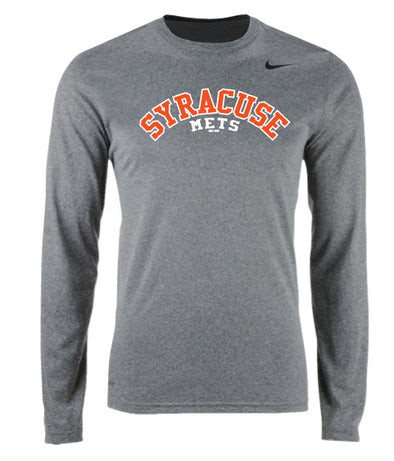 Nike Grey Long Sleeve Dri-FIT T-shirt