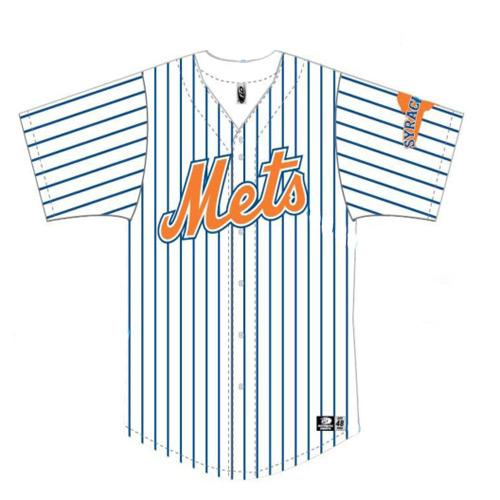 Syracuse Mets OT Home Replica Jersey