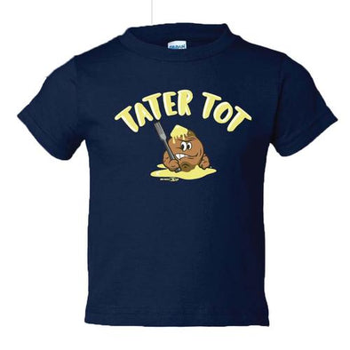 Syracuse Mets Salt Potatoes Navy Tater Tot Toddler T