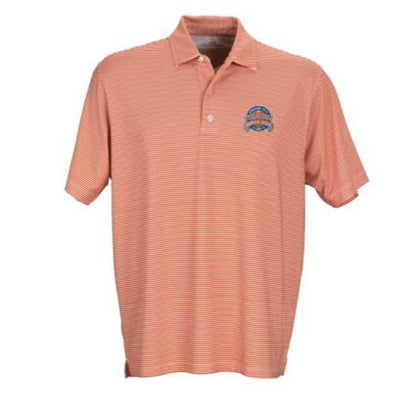 Syracuse Mets Vant Orange/White Stripe Polo