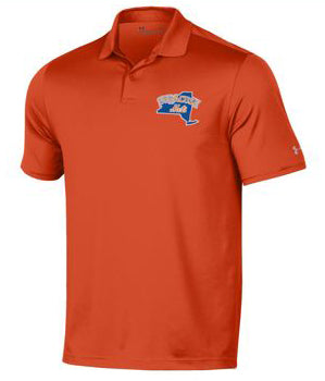 UA Orange Performance Polo 2.0