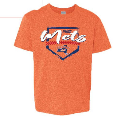Syracuse Mets BR Orange Youth T-shirt