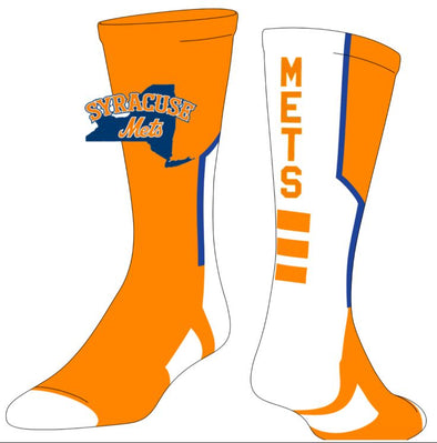 TCK Orange/White Sock