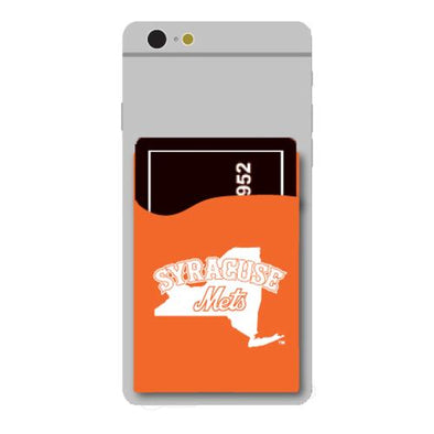 Syracuse Mets Silicone Phone Wallet
