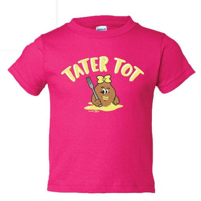 Syracuse Mets Salt Potatoes Pink Tater Tot Toddler T