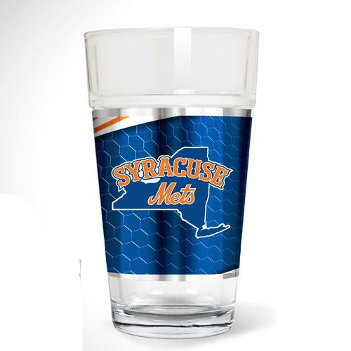 Syracuse Mets Pint Glass