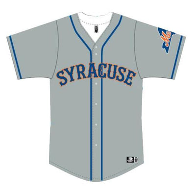 Syracuse Mets OT Road Replica Jersey