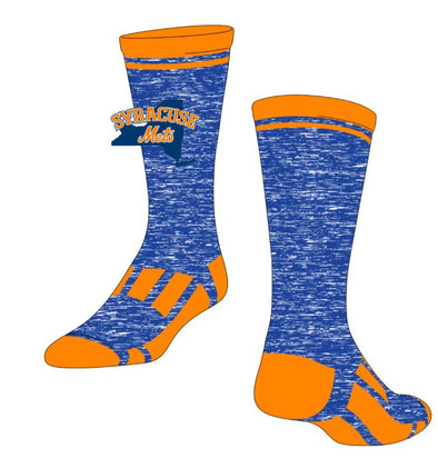 TCK Orange/Royal Sock