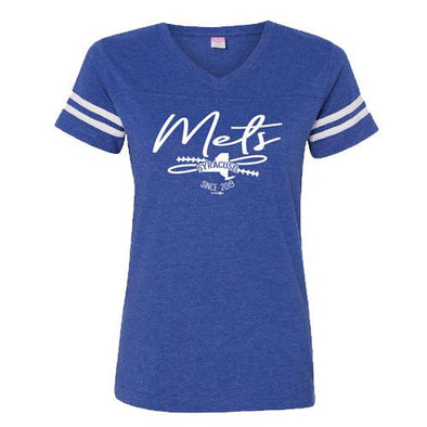 Syracuse Mets BR Royal Ladies Sporty Tee