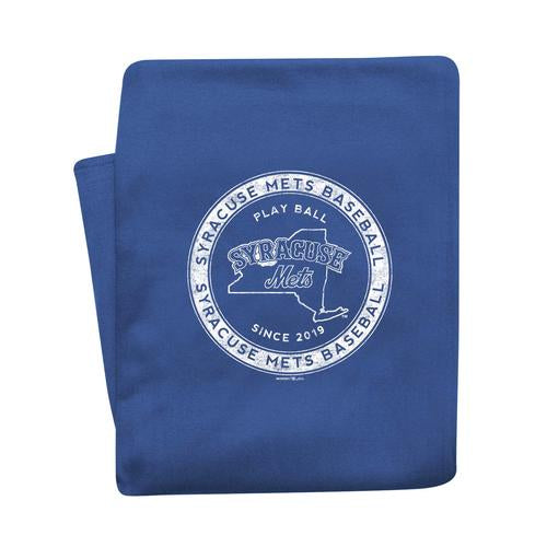 Syracuse Mets MV Sweatshirt Blanket