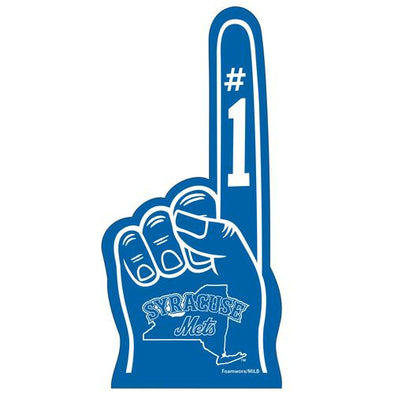 "Syracuse Mets 18"" Foam Finger"