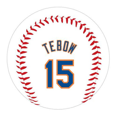 Syracuse Mets Rawlings Tebow 15 Baseball