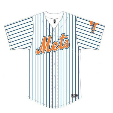 Syracuse Mets OT Home Replica Youth Jersey