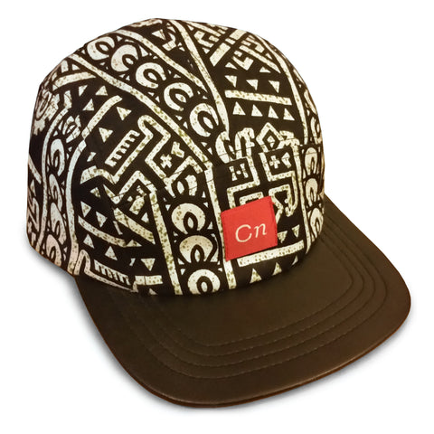 Dogon Wax Print 5-Panel Hat