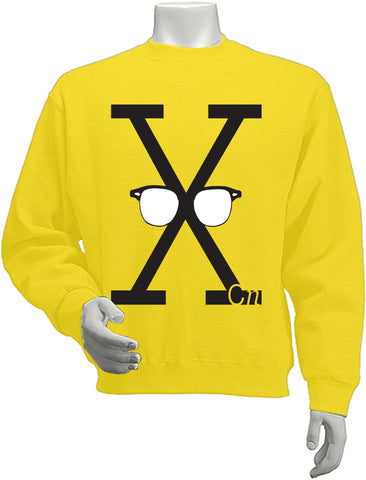 Malcolm X Glasses Sweatshirt (Men/Women)