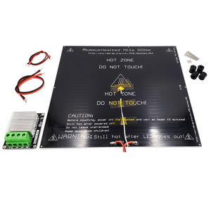 X301 Heated Bed Kit MK2A 300mmx300mm 24V with Heavy Duty Mosfet