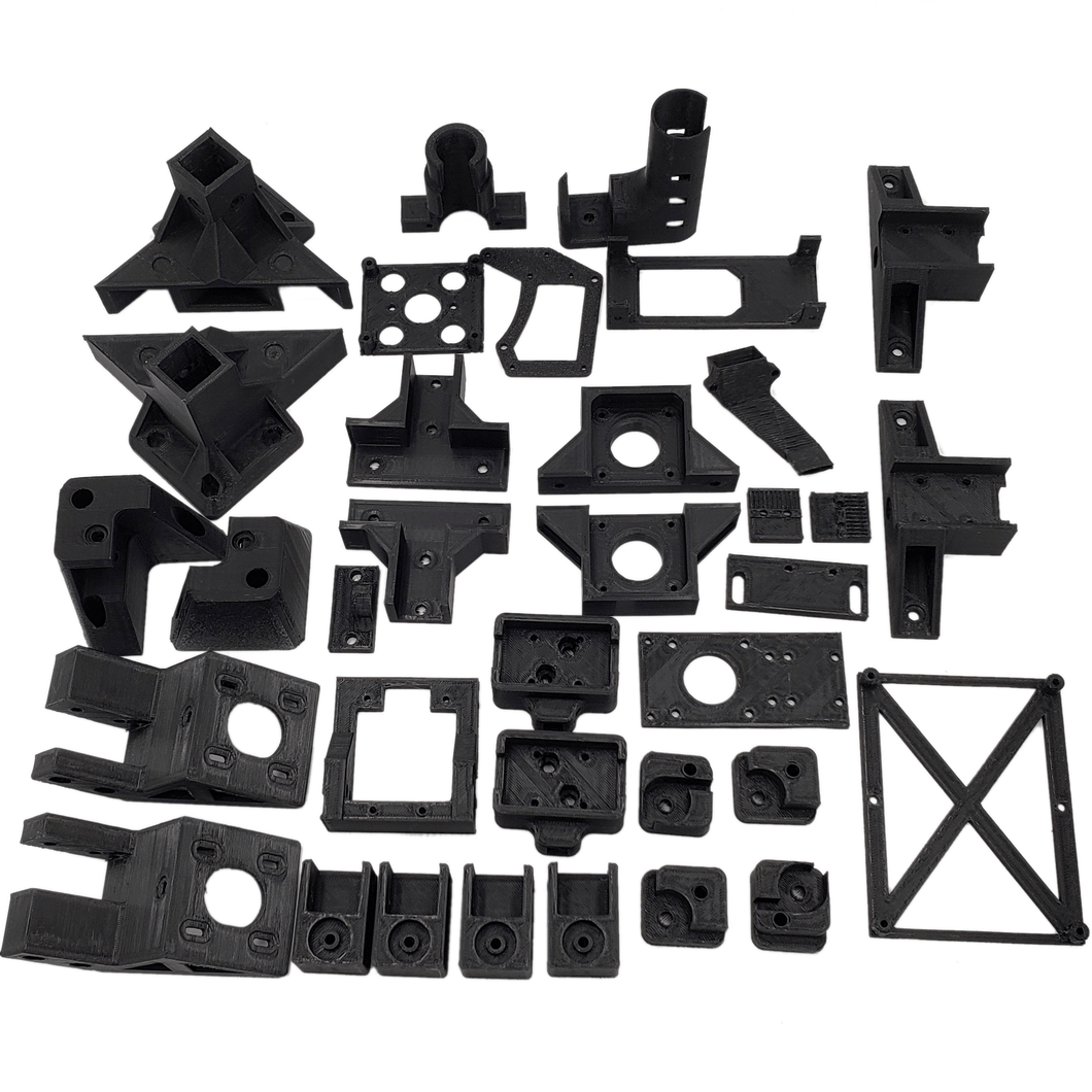 LayerFused X201 Printed Parts Kit