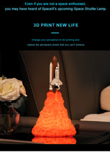 Load image into Gallery viewer, 3D Print Space Shuttle Lamp