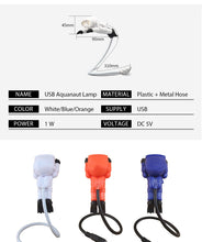 Load image into Gallery viewer, Cute Astronaut USB LED Night Lights
