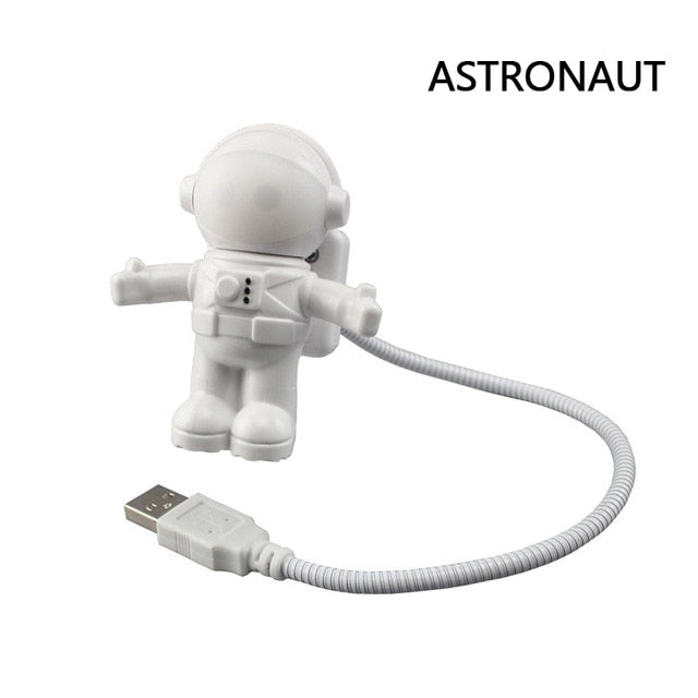 Cute Astronaut USB LED Night Lights