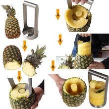 Load image into Gallery viewer, Stainless Steel Pineapple Cutter