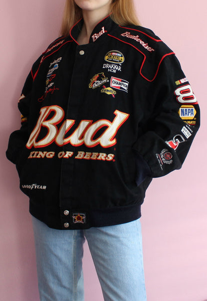 Black Chase Authentics Racing Jacket