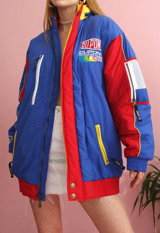 Blue & Red Jeff Gordon #24 Nascar Racing Jacket