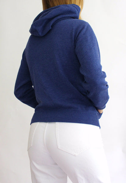 Blue Polo Ralph Lauren Zip Up Hoodie