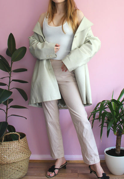 Vintage Beige Christian Dior Trousers