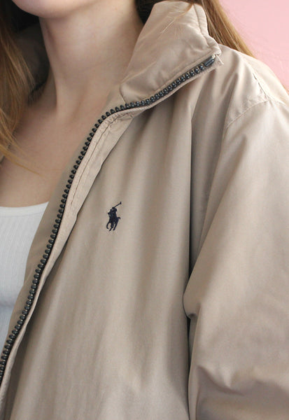 Polo Ralph Lauren Fleece Lined Beige Jacket