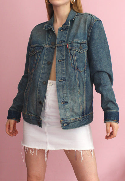 Blue Levi's Denim Jacket