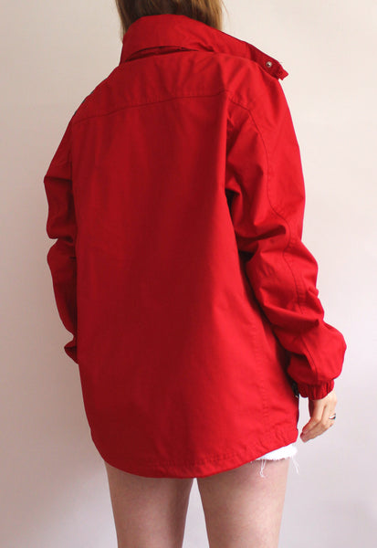 Red Official Ferrari Racing Coat