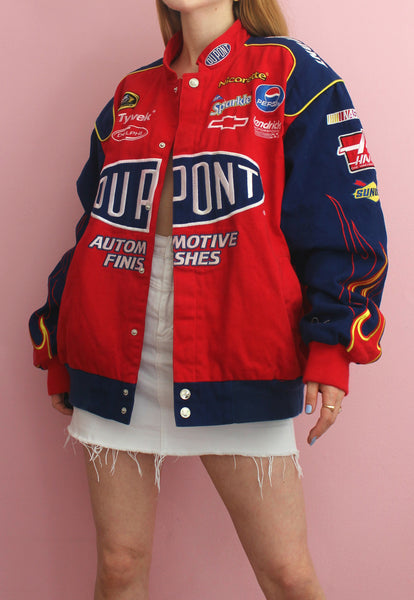 Red & Blue Chase Authentics Racing Jacket