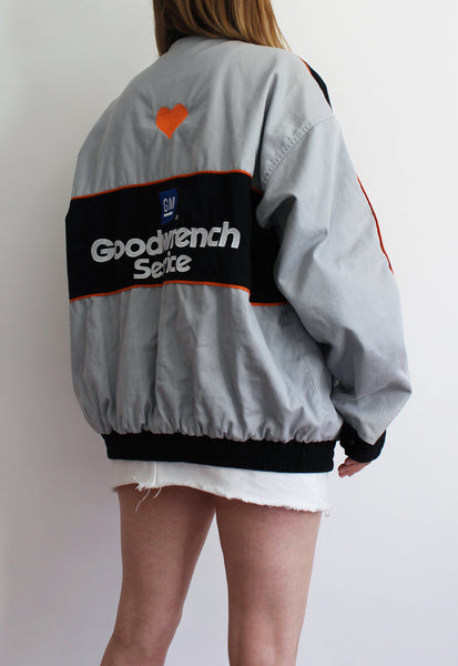 Grey Winner's Circle Goodwrench Racing Jacket