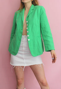OuiSet Bright Green Blazer