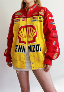 Red & Yellow Chase Authentics Pennzoil Nascar Racing Jacket