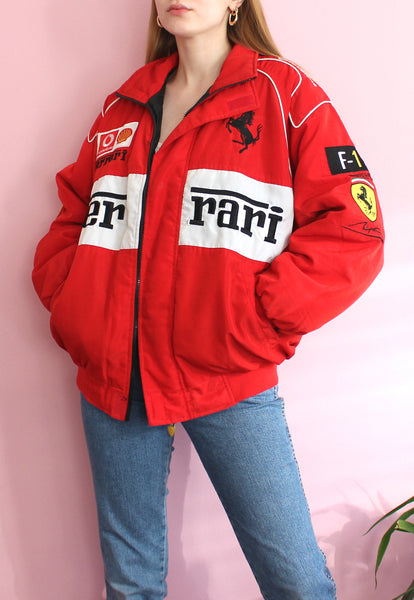 Red & White Ferrari Jacket