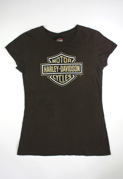 Harley-Davidson Brown Classic Graphic Tee