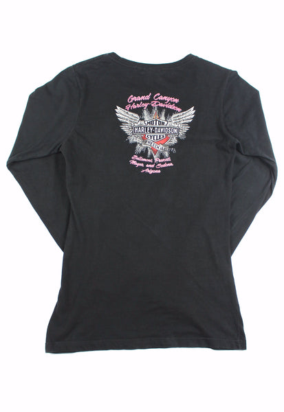 Harley-Davidson Black Long Sleeve Top