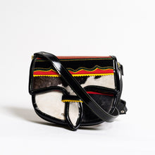 Load image into Gallery viewer, calf hair luxury  handmade handbag crossbody