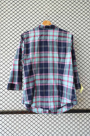 Checkered Cotton Shirt (Medium) (Brand:    Arizona )