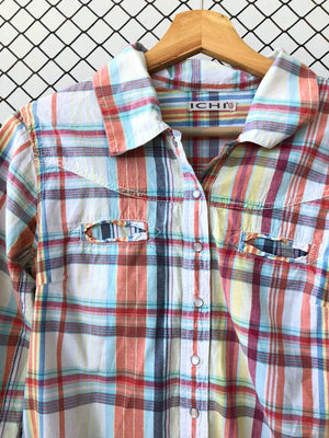 Classic Checkered Cotton Buttondown