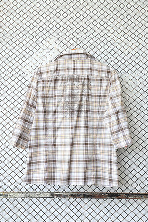 Checkered Urban Grunge Blouse