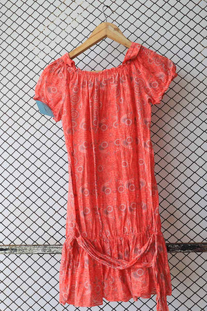 Chiffon Bohemian Dress Top