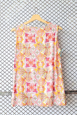 Sleeveless Tribal Blouse